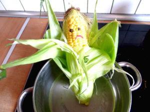 kukurydza gotowanie
