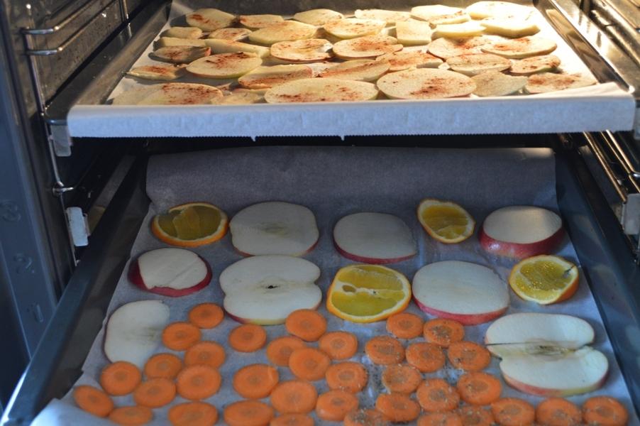 Suszenie warzyw iowoców wpiekarniku