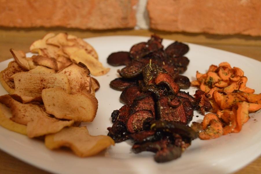 Chipsy zowoców iwarzyw