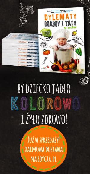 książka - dylematy mamy i taty w kuchni